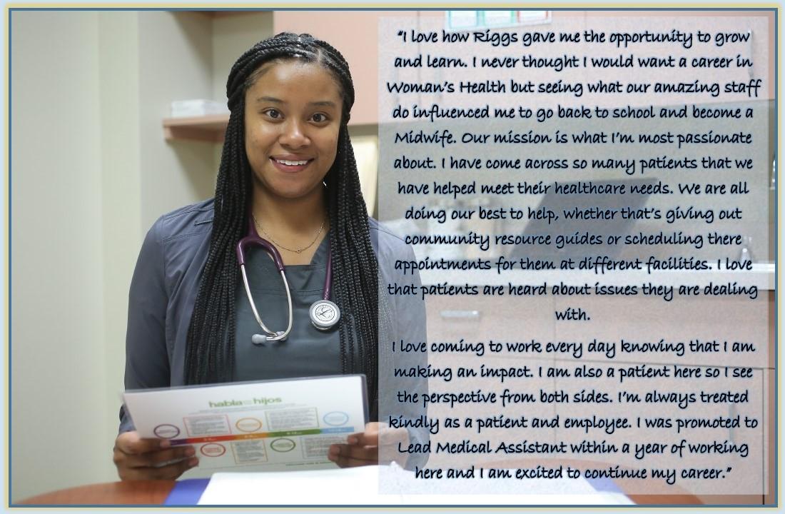 Makayla, MA - Women's Health